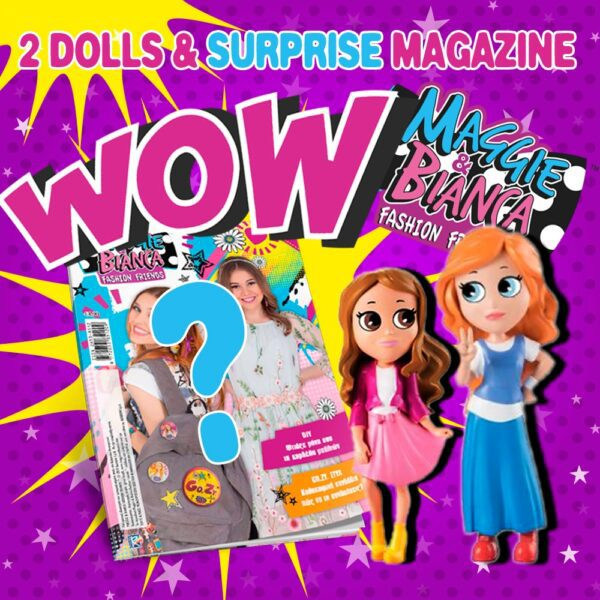 Maggie & Bianca doll set