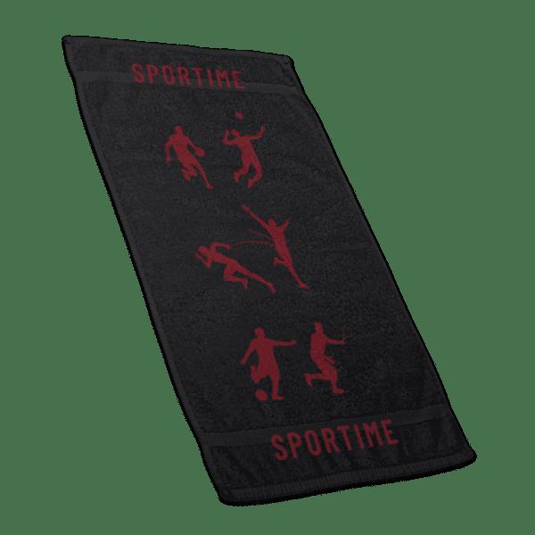 Πετσέτα γυμναστηρίου (45x90cm) - Κόκκινο